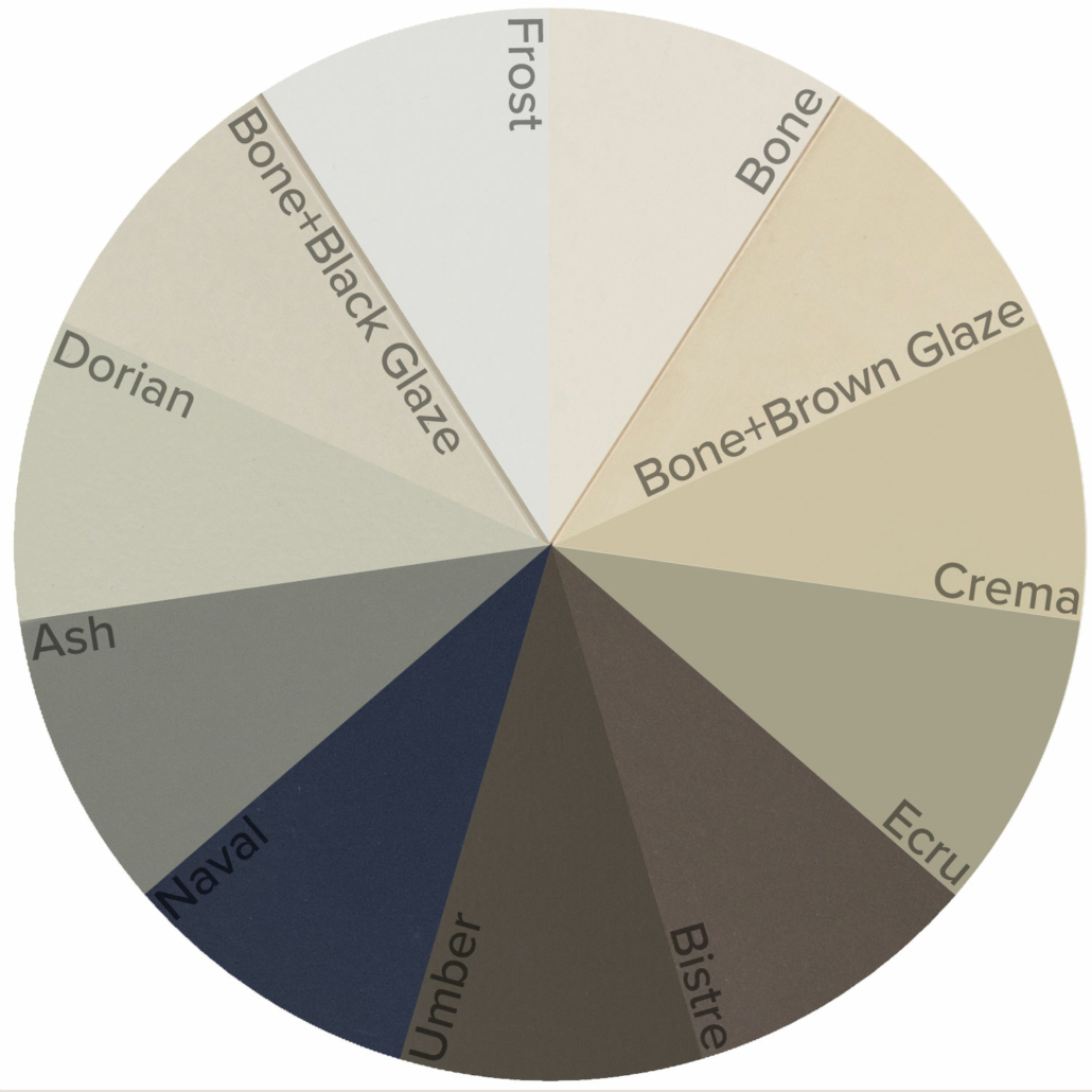 Burrows Cabinets' paint options