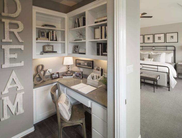 corner desk cameron white