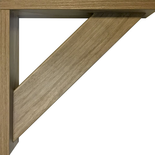 Burrows Cabinets' EVRGRN Open Corbel in Straan