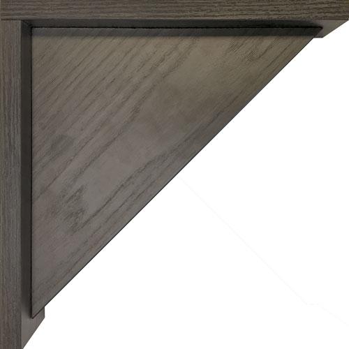 Burrows Cabinets' EVRGRN Solid Corbel in Vattern