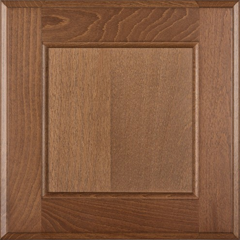 Burrows Cabinets flat panel door in Beech - Bali