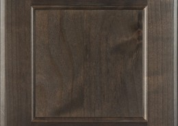 Burrows Cabinets' flat panel door in Clear Alder Driftwood