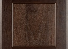 Burrows Cabinets flat panel door in Clear Alder - Kona