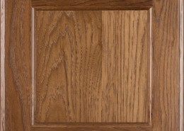 Burrows Cabinets flat panel door in Hickory Bali