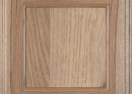Burrows Cabinets flat panel door in Hickory Sandstone
