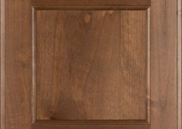 Burrows Cabinets' flat panel door in Knotty Alder Bali