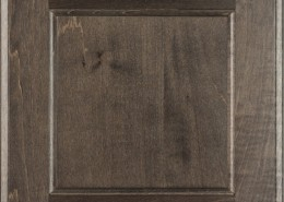 Burrows Cabinets' flat panel door in Maple Driftwood