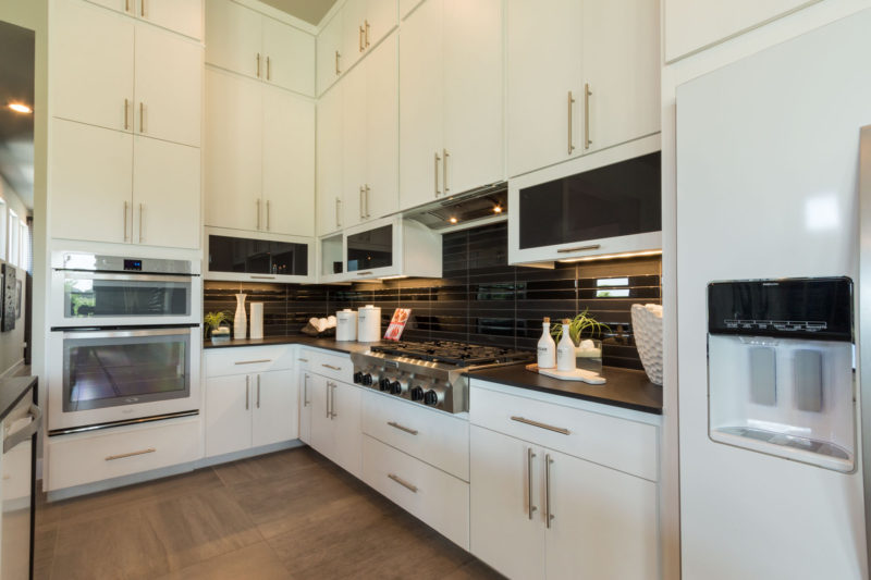 Burrows Cabinets' full overlay kitchen with SoCo doors