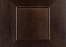 Burrows Cabinets' Kensington in Clear Alder Kona