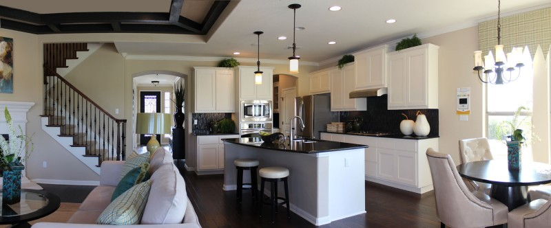 Burrows Cabinets' kitchen cabinets in Briscoe design in Bone