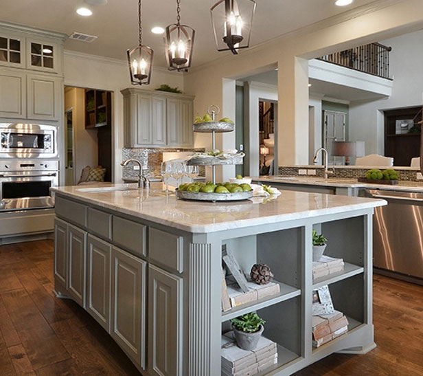 Kitchen Cabinet Design Island Options Burrows Cabinets Central