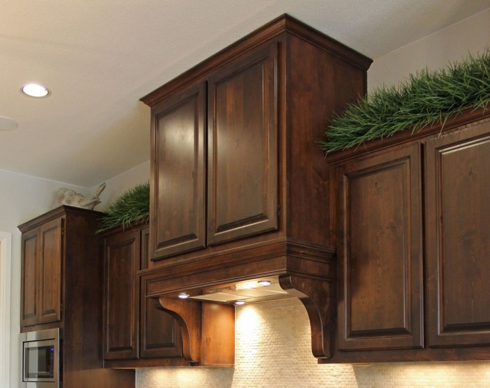 Burrows Cabinets' Georgian Vent Hood