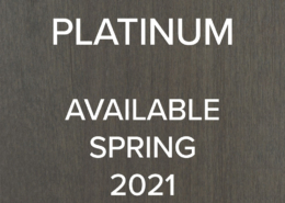 Platinum - available Sprijng 2021