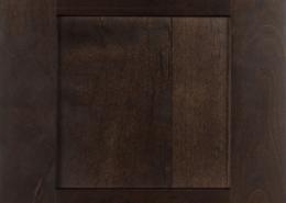 Burrows Cabinets' Shaker in Clear Alder Kona