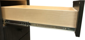 Side mount full extension drawer guide
