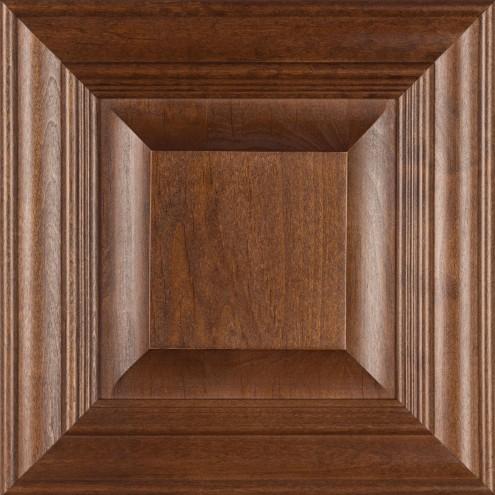 Burrows Cabinets' Wilmington door in Clear Alder Ambrose
