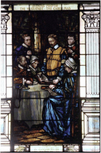 stained glass panel
