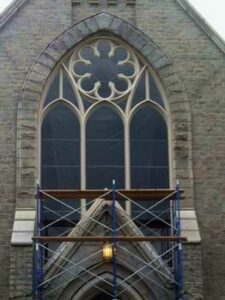 historic stained glass restoration