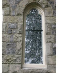 stained glass installations