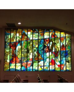 jewish stained glass