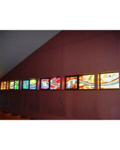 modern stained glass