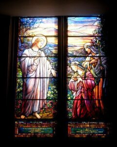 stained glass window repair