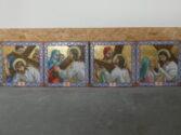 Restored mosaics St. Mary's Ukrainian Church Carteret, NJ