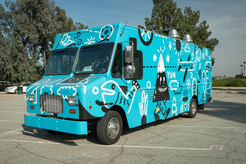 Seattle Google Truck