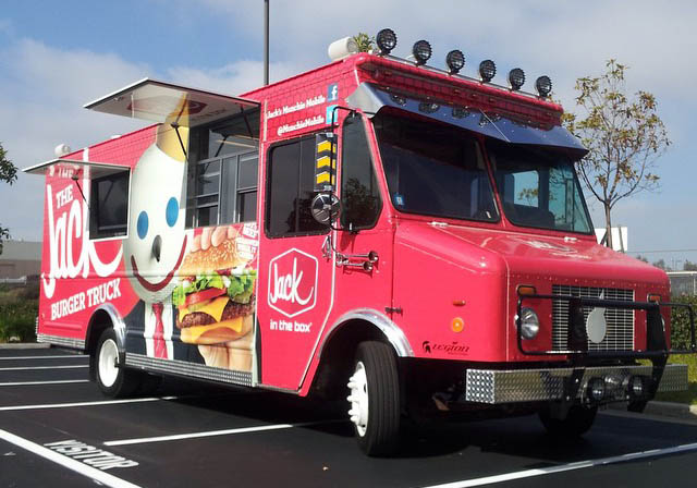 Corporate Food Truck Builder Chosen by Coca Cola & Jack in the Box