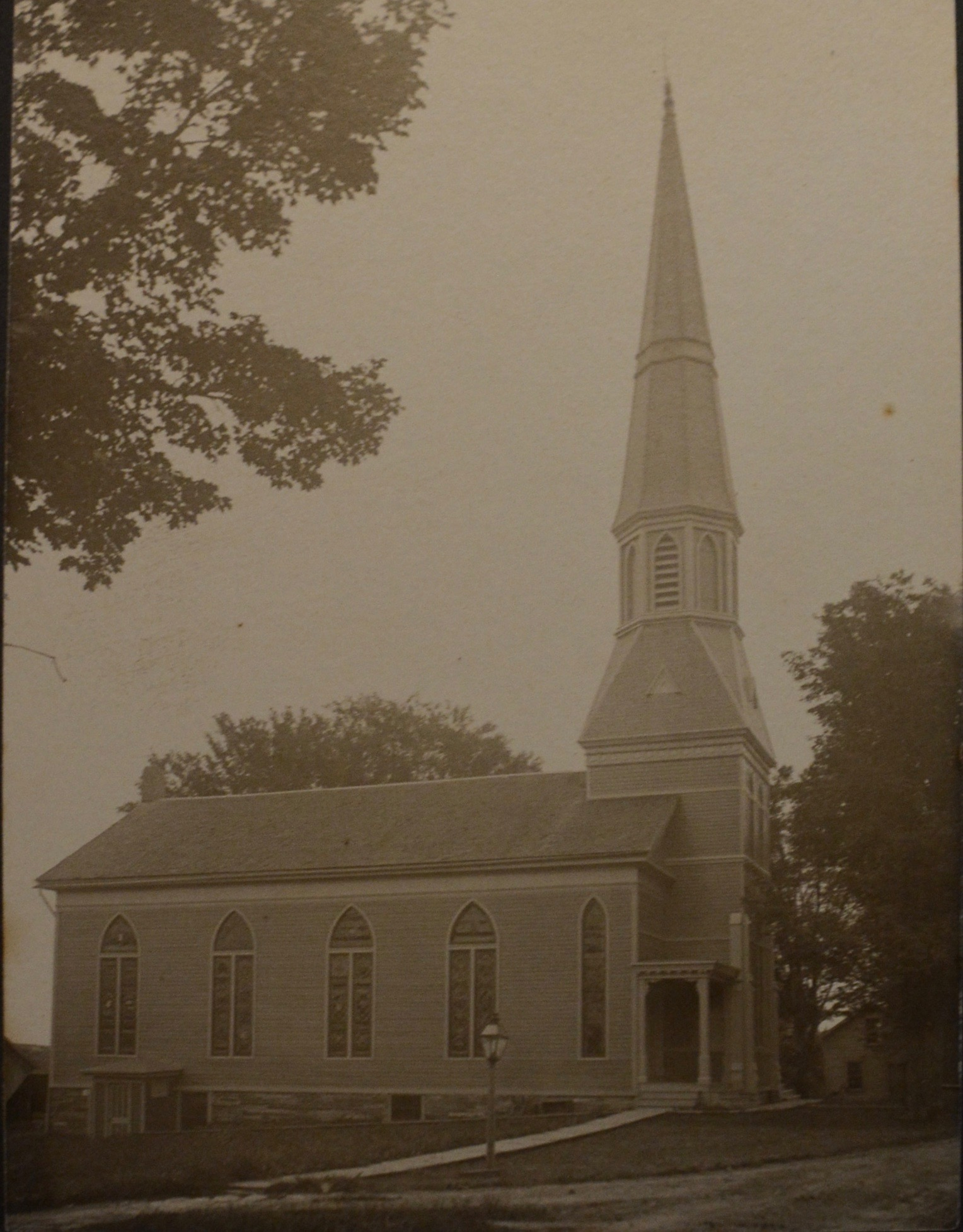 1902 Photo of the church