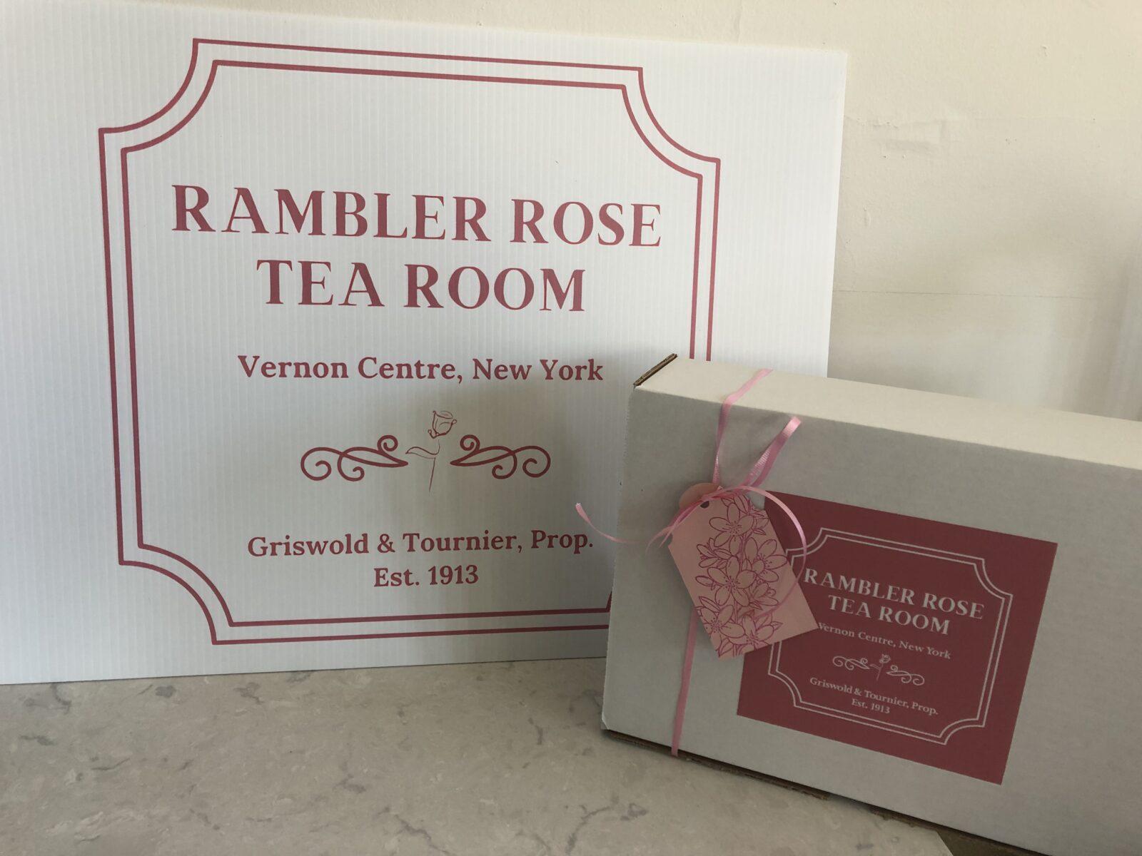 Rambler Rose Tea Box