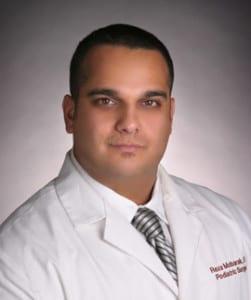 Dr. Reza Mobarak, DPM, foot surgeon