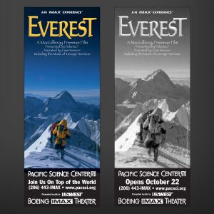 Everest print ads