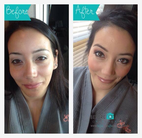 Bridesmaid makeup ideas, smokey eyes, before and after, airbrush makeup, dallas, fort worth, texas, bridal makeup, bridal hair
