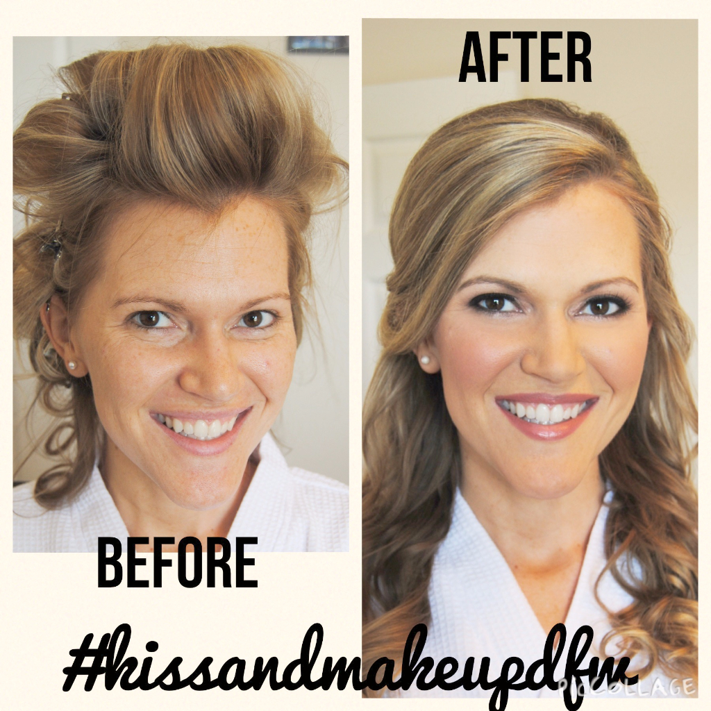 bridal makeup, bridal hair, hair stylist wedding, airbrush makeup for wedding, before and after, natural makeup ideas, micaela evans, fort worth makeup artist, dallas makeup artist, bridal looks, wedding hair ideas