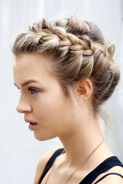 Dutch Braid updo, prom ideas, prom 2016, prom hairstyles