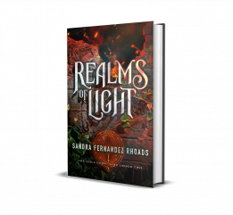 Realms of Light, the story of Cera Marlowe and her supernatural ability. Author Sandra Fernandez Rhoads