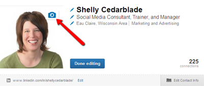 How to edit LinkedIn Profile Photo