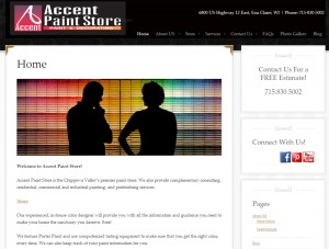 Accent Paint Store | Woo! Social Media Marketing Client