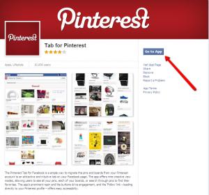 Free Pinterest Tab