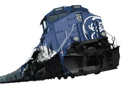 GE Evolution Series Locomotive