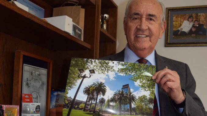 Eduardo Sepúlveda, presidente Comité Relaciones Públicas y Becas RYE Rotary Club Temuco Norte