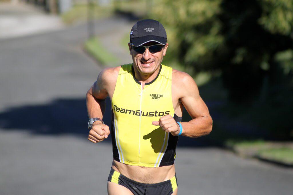 Cristián Bustos, deportista y emprendedor