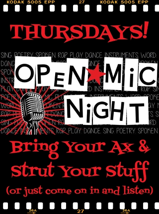 Union Park Tavern Thursday Open Mic Night