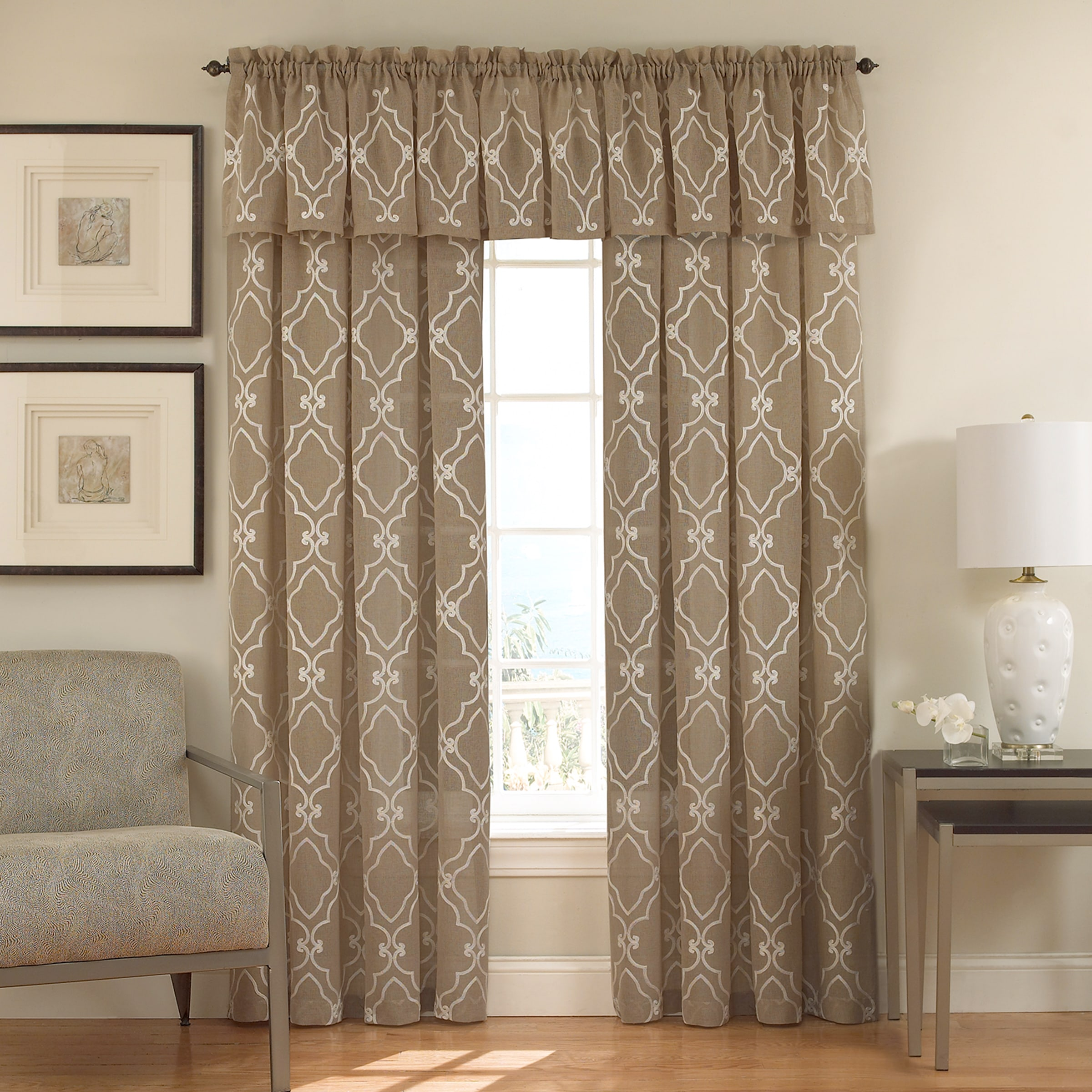 Carlyle Panel Featured with Valance