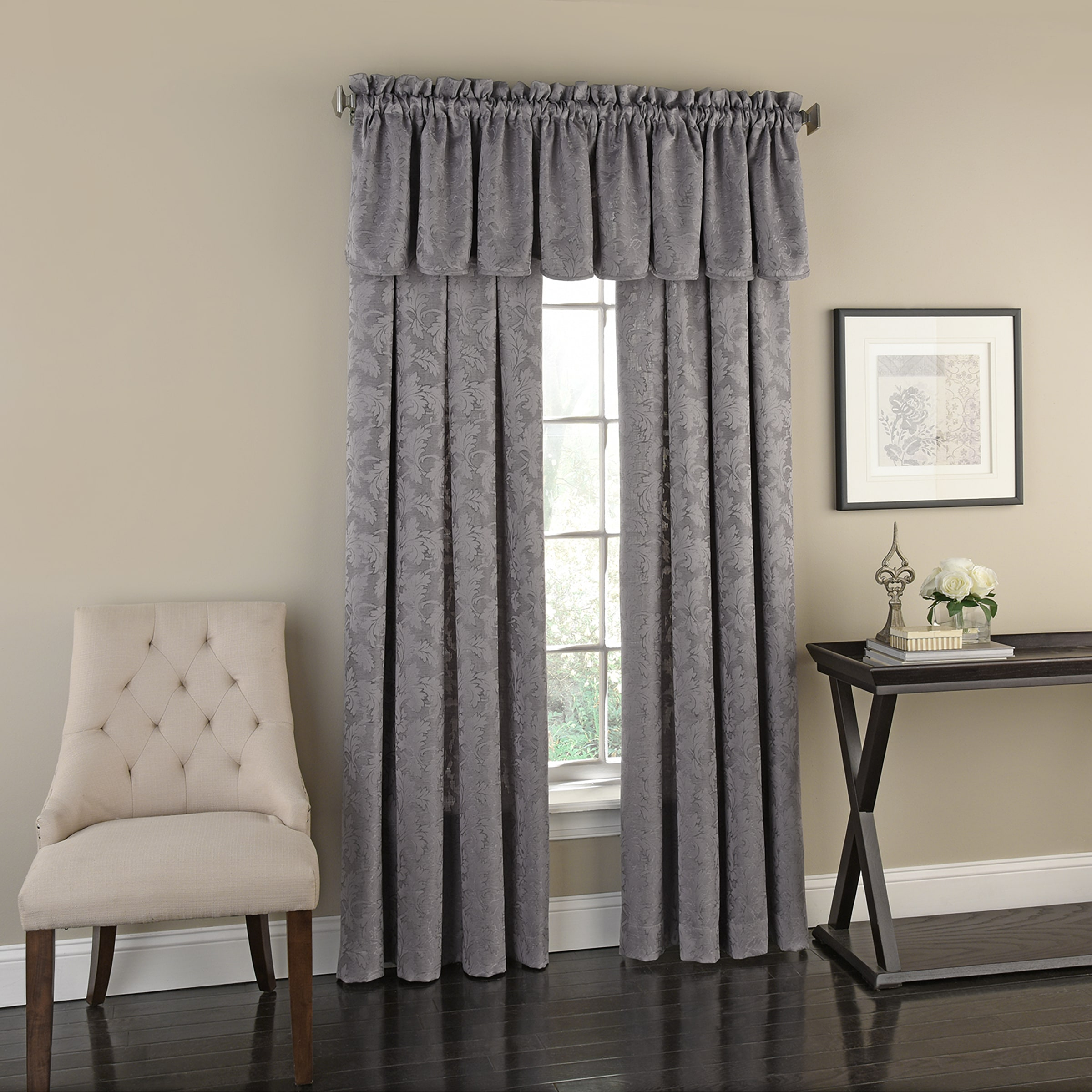 Flora Panel Featured with Valance