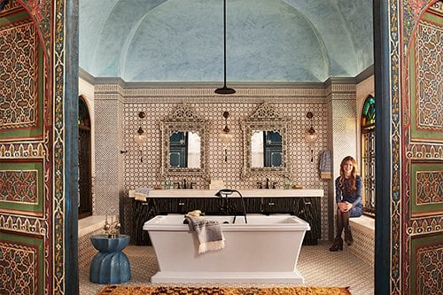 Royal designed bathroom