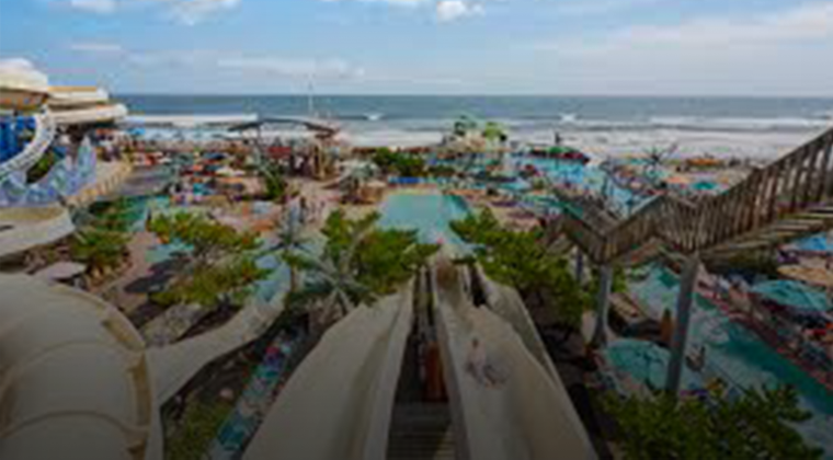 Ocean Oasis waterpark in Wildwood, NJ