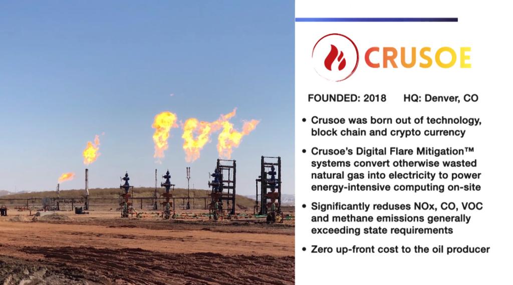 Excess Oil Field Gasses Powering Data Mining Supercomputers Crusoe Energy