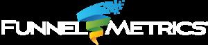 Funnel Metrics Logo Reverse Type